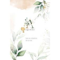 Agenda hebdomadaire - Soit la créatrice de ta vie – Marie-Andrée Lavoie