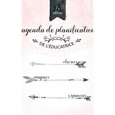 Agenda de planification de l'éducatrice en milieu familial – Marie-Andrée Lavoie
